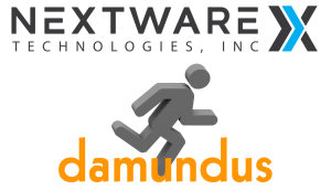 Nextware Technologies and Damundus Logos